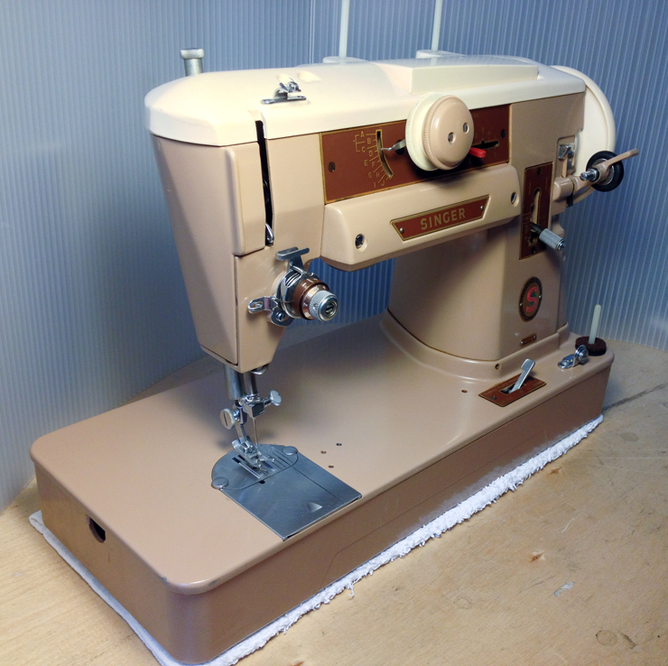 The Vintage Singer Sewing Machine Blog