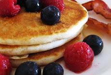 فطائر بان كيك خالية من الجلوتين Gluten-Free Pancakes