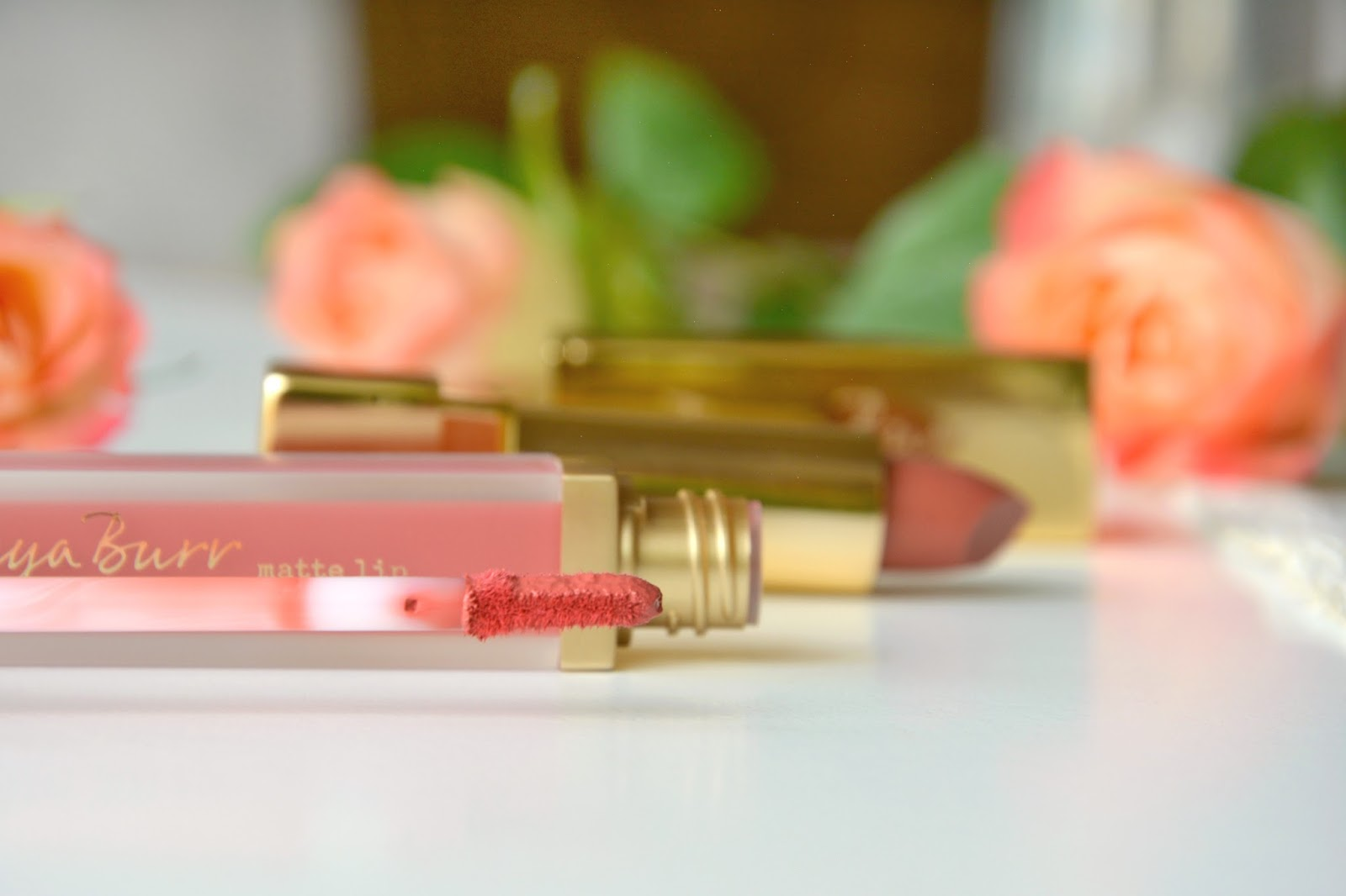 Tanya Burr Cosmetics Lipstick Pink Cocoa; Tanya Burr Cosmetics Soft Luxe Lip Gloss Martha Moo