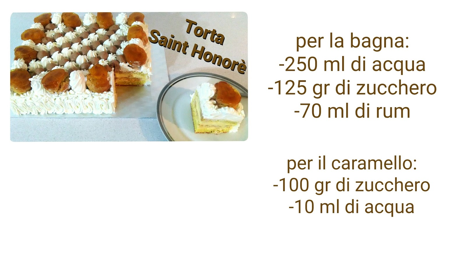 Le ricette di TerroreSplendore: Torta Saint Honorè