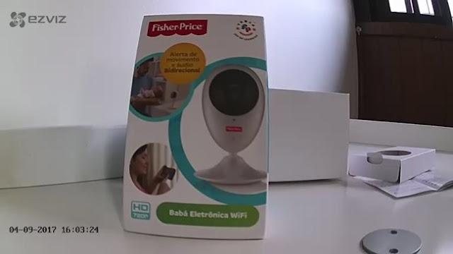 Babá Eletrônica Wi-Fi Fisher-Price