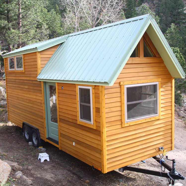 Tiny Home Designs: TINY HOUSE TOWN: Simblissity's Aspen Tiny House (260 Sq Ft