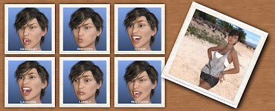 Pictures of You - Morph-Dial and One-Click Expressions for Genesis 3 Female