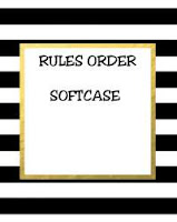 Rules Order Softcase