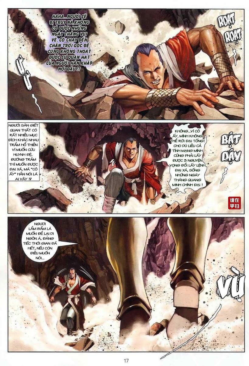 Ôn Thụy An Quần Hiệp Truyện chap 22 trang 17