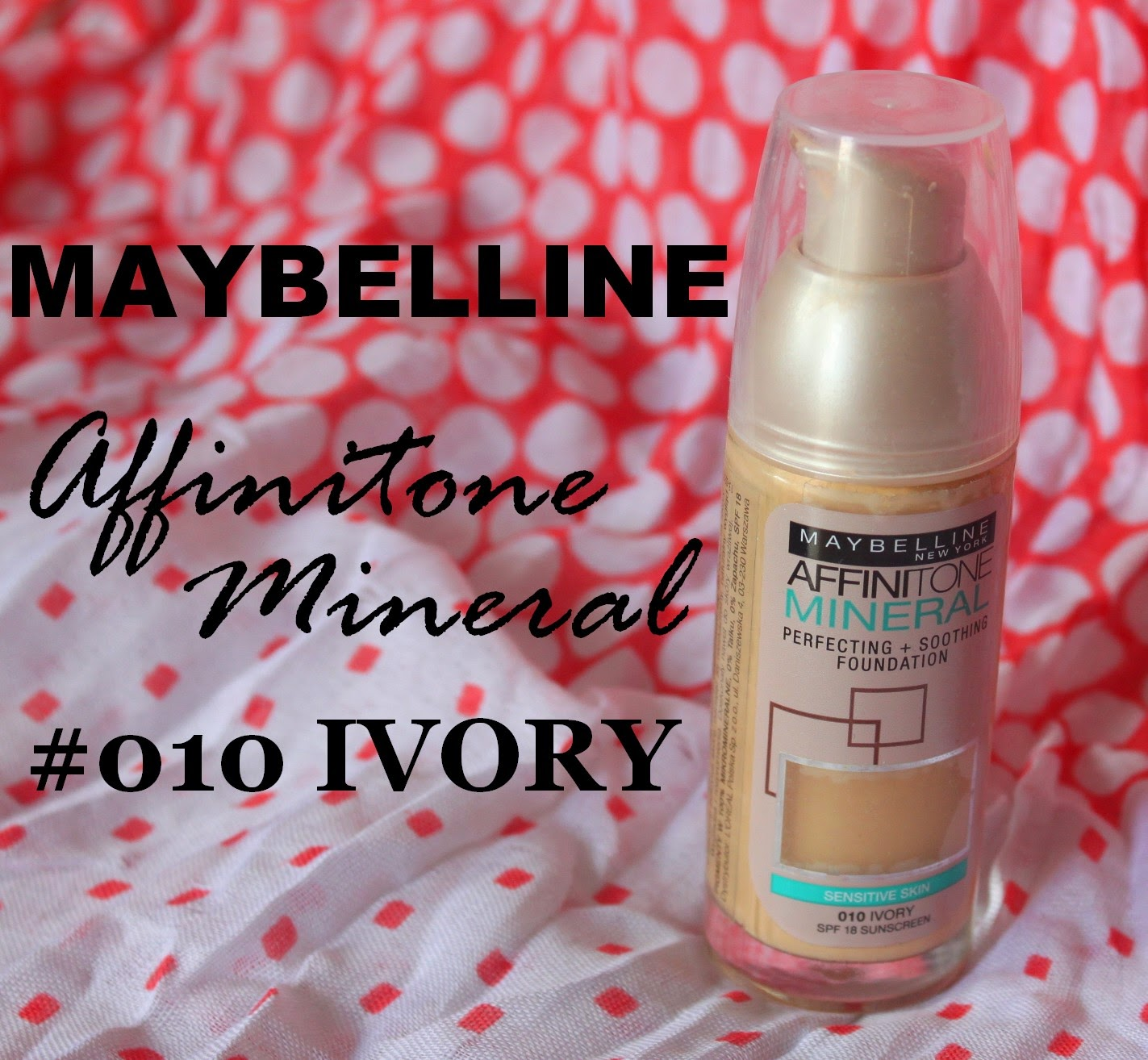 MAYBELLINE Affinitone Mineral, #010 IVORY