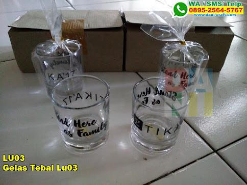 Grosir Gelas Tebal Lu03