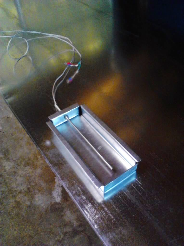 Powder Coating Oven Thermocouple Housing