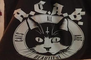 Multada con la Ley Mordaza por llevar un bolso con la cara de un gato y las siglas A.C.A.B.