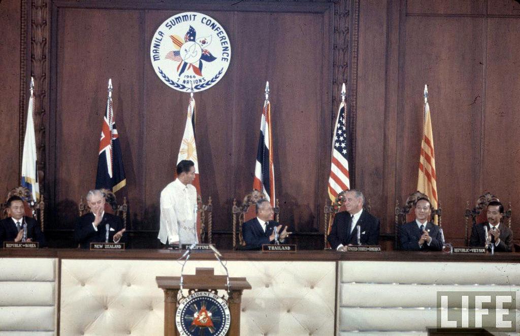Manila Summit Conference October 24 1966 , Ferdinand Marcos