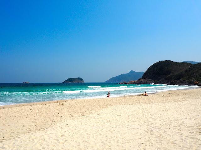 Tai Wan beach at Tai Long Wan, Hong Kong