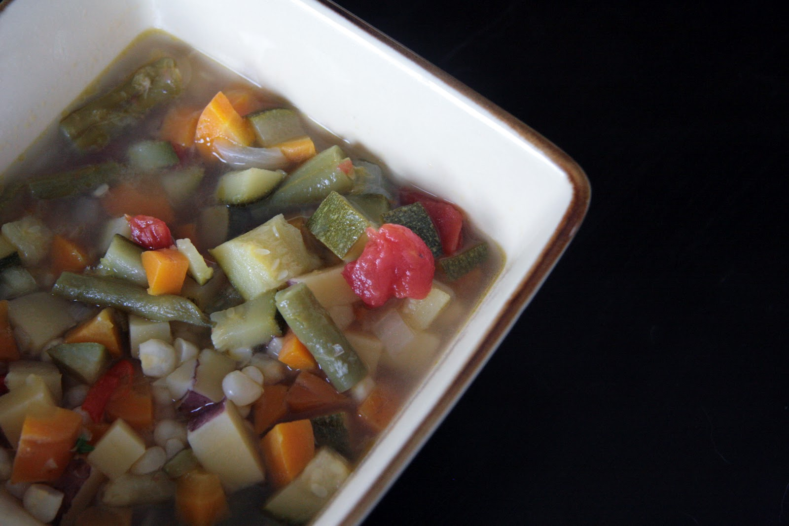 Local Food Rocks: Whatever Your Garden Grows Vegetable Soup