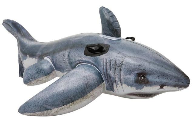 flotador tiburon