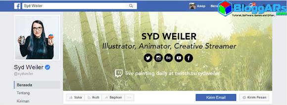 Halaman Facebook Syd Weiler