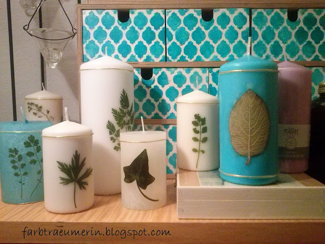 diy-kerze-mit-blueten-und-pflanzen-candle-with-pressed-flowers-and-plants-geschenk-basteln