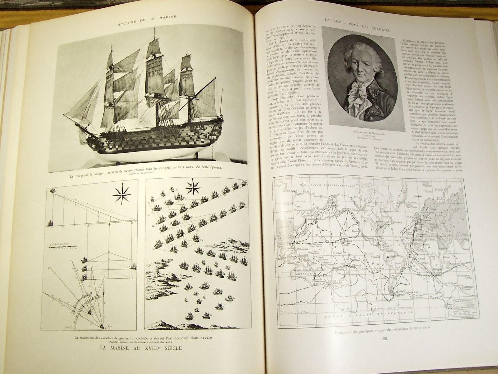 librairie ancienne et autres tr sors histoire de la marine par toudouze naviguer en bateau. Black Bedroom Furniture Sets. Home Design Ideas