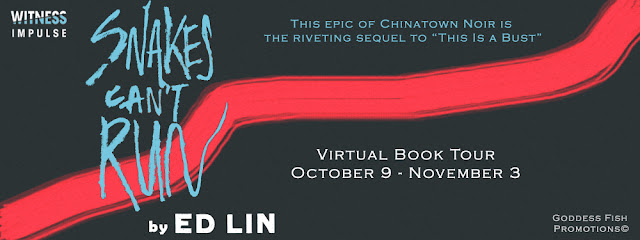 Interview with Ed Lin, author of Snakes Can't Run