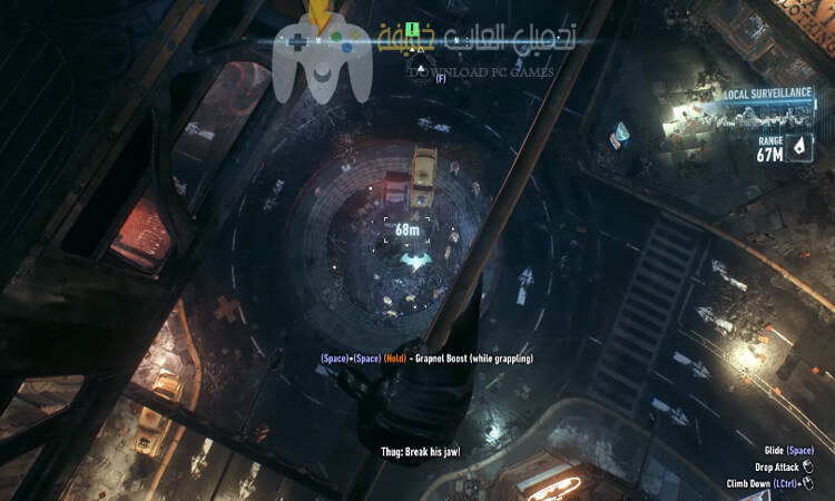 تحميل لعبة Batman Arkham Knight مضغوطة