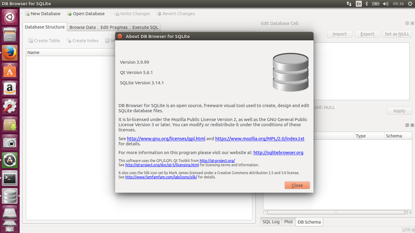 How to install program on Ubuntu: Install DB Browser for