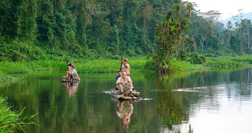 Turismo de aventura en el Parque Nacional Manu en Perú