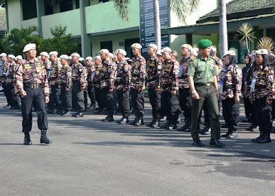 TNI Kuat Bersama Rakyat, Pesan Danrem pada FKPPI Sebagai Peserta Jambore Kebangsaan Bela Negara