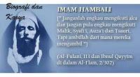 Biografi dan Karya Imam Hambali