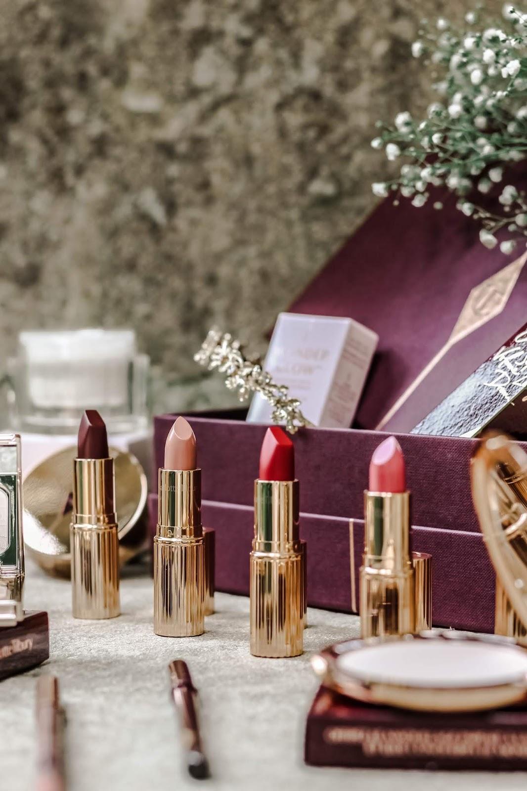 Charlotte Tilbury K.I.S.S.I.N.G. and Matte Lipsticks
