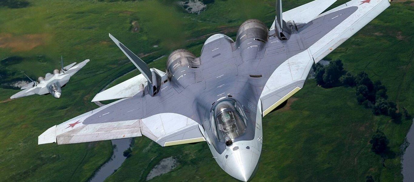 Το ρωσικό μαχητικό Su-57 πέφτει με σβηστό κινητήρα και επανέρχεται απο στροβιλισμό