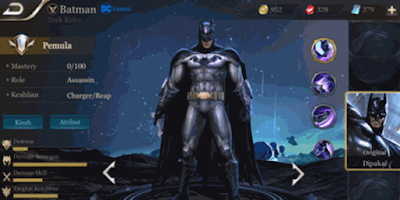 hero batman aov