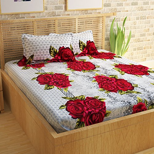 Valentine special Customised Bed sheet