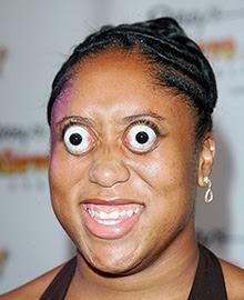 Kim Googman, ojos saltones, ojos salidos, repelús