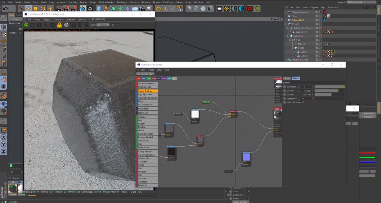 Creating Worn-out Edges in Octane Render for Cinema 4D | CG TUTORIAL