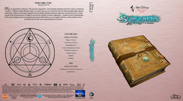 The Sorcerer's Apprentice Bluray Cover