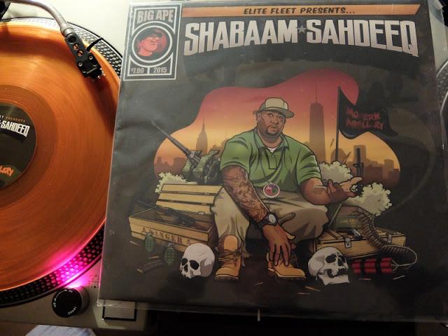 Shabaam Sahdeeq MODERN ARTILLERYのレコードです。