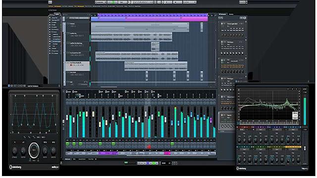 Cubase Pro ,Software Pembuat Musik Digital