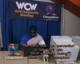 WCW Clash of the Champions 33 1996 REVIEW - Ice Train got beat up by Scott Norton