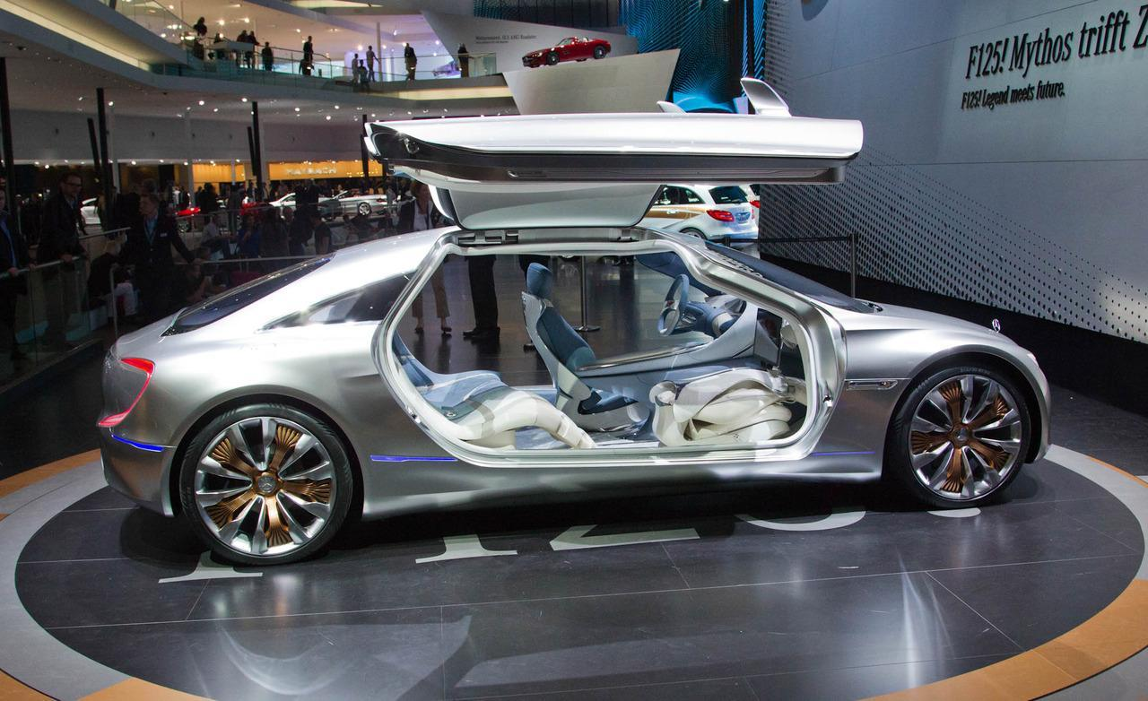 mercedes benz f125iconcept future car future cars