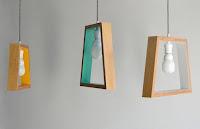 lamparas hechas con madera para el techo
