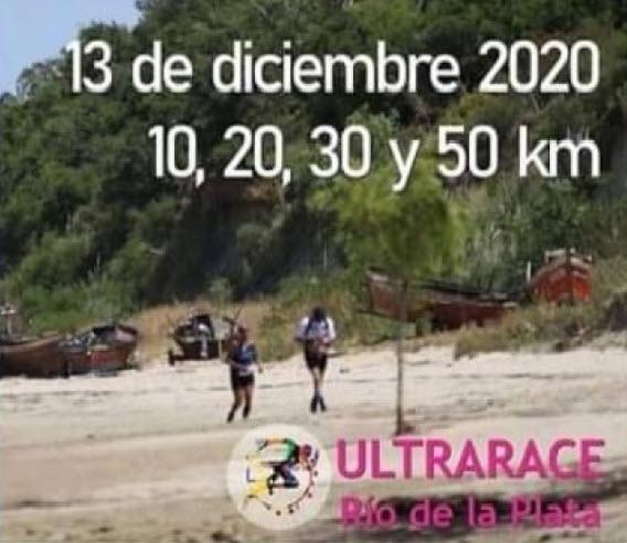 10k 20k 30k 50k Ultra Race Río de la Plata (13/dic/2020)