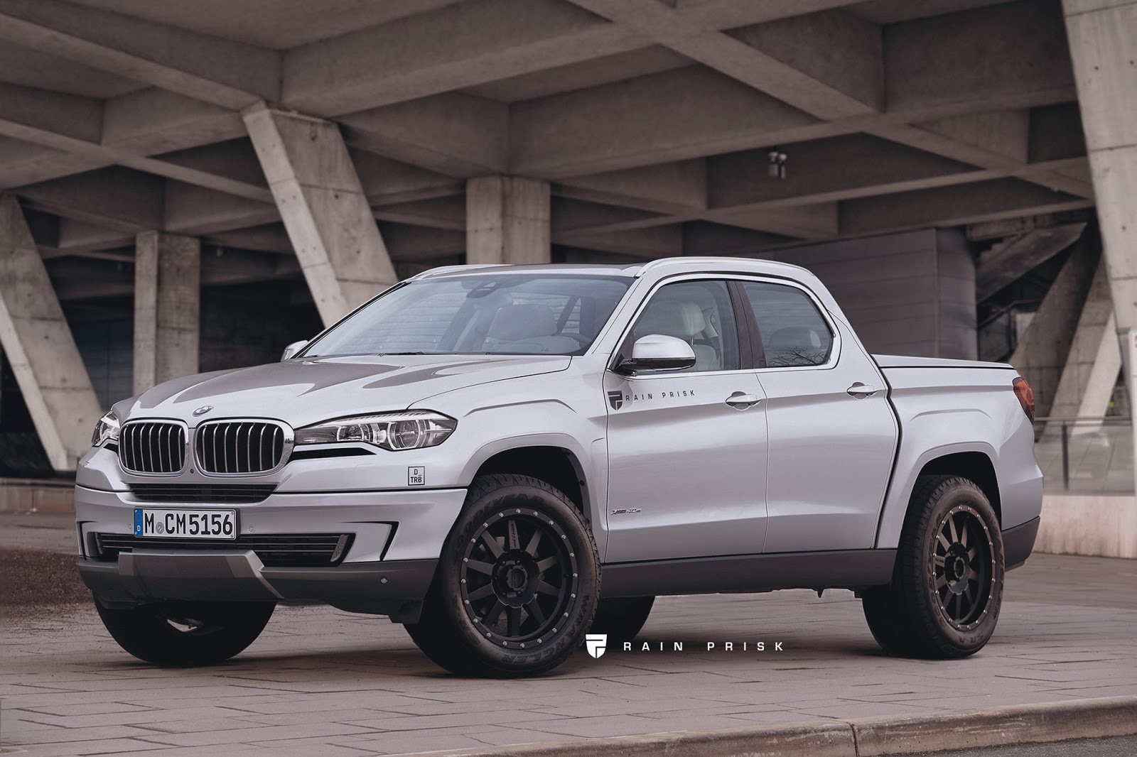 Bmw Pick Up Truck >> This Bmw Pickup Truck Rival To The Mercedes Benz X Class Could Be A