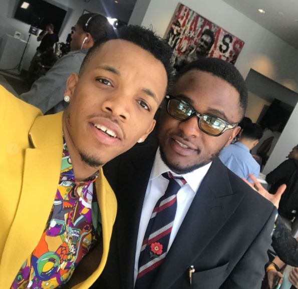 #BETAwards2017 - Ubi Franklin Blast Iyanya As He Celebrates Tekno's Nomination