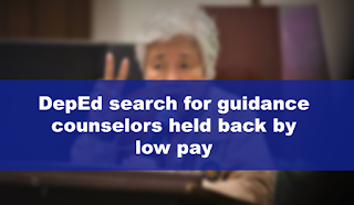 DepEd search for guidance counselors held back by low pay