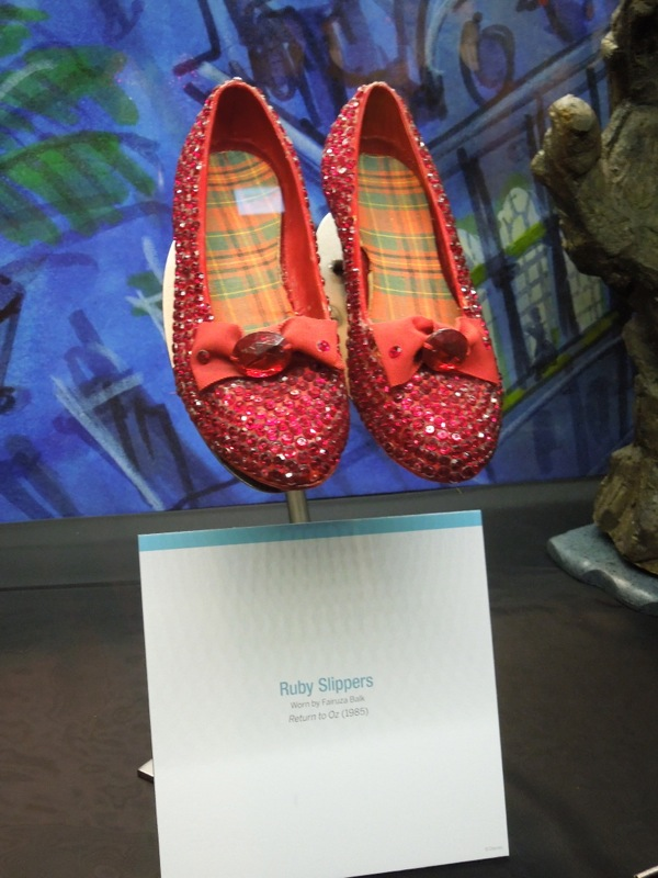 Return to Oz Ruby slippers