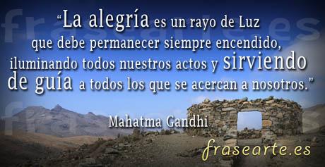 Frases para la vida, Mahatma Gandhi