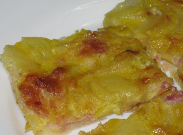 L 39 arzdour ina crostata patate cipolla pancetta - Un angelo alla mia tavola ...