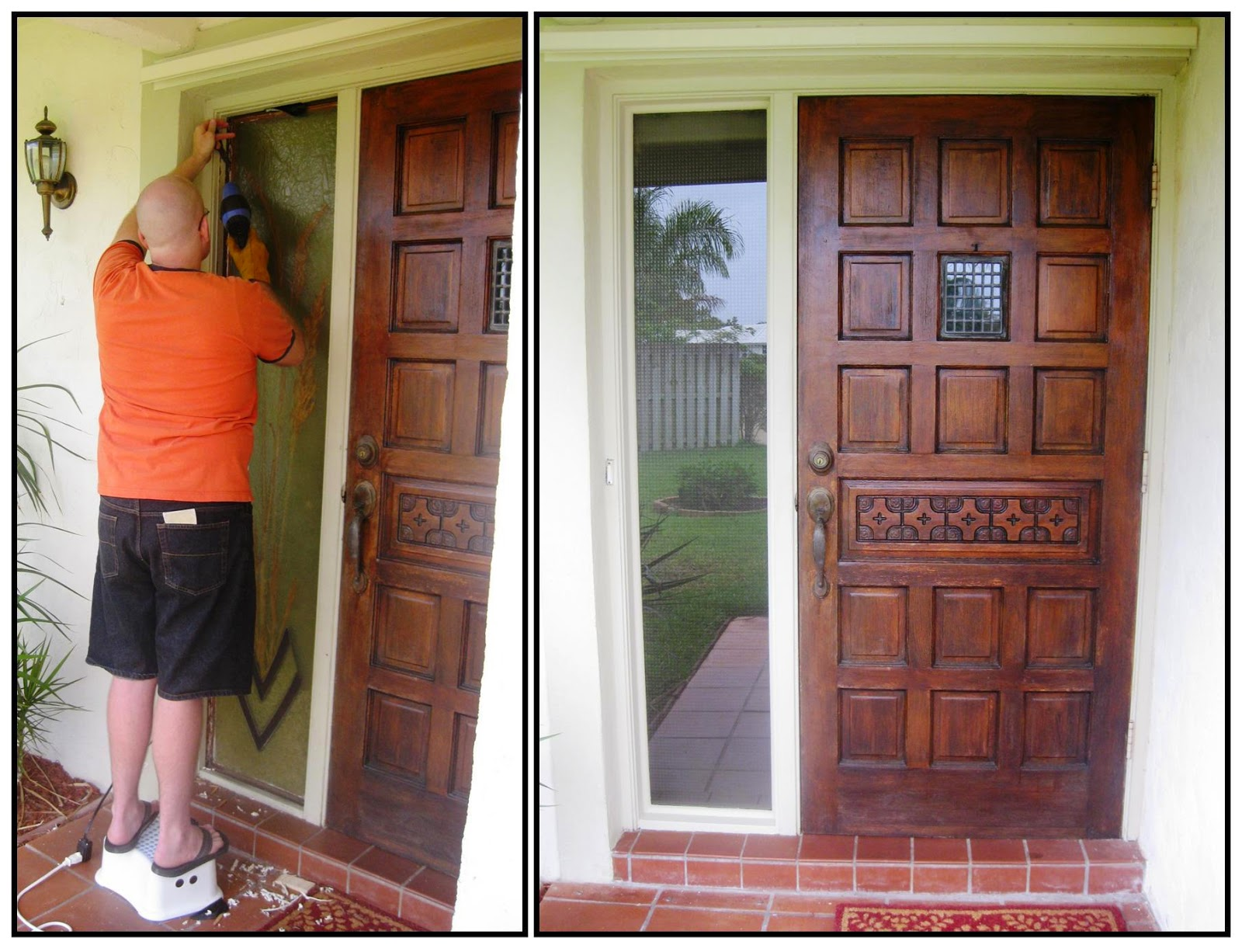Life Colloquy: DIY: Front Door Update