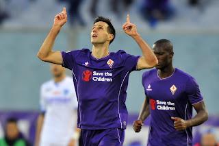 Calcio serie A 6 febbraio 2016 Bologna-Fiorentina