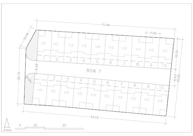 gambar site plan