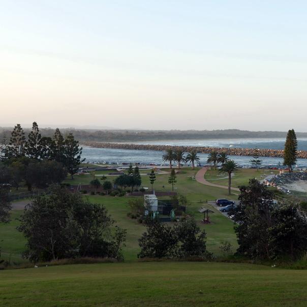 Port Macquarie, Ostküste, Australien, Meer, grün, mystisch, Aussicht