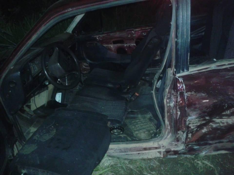 Acidente deixa três pessoas feridas em Andradas
